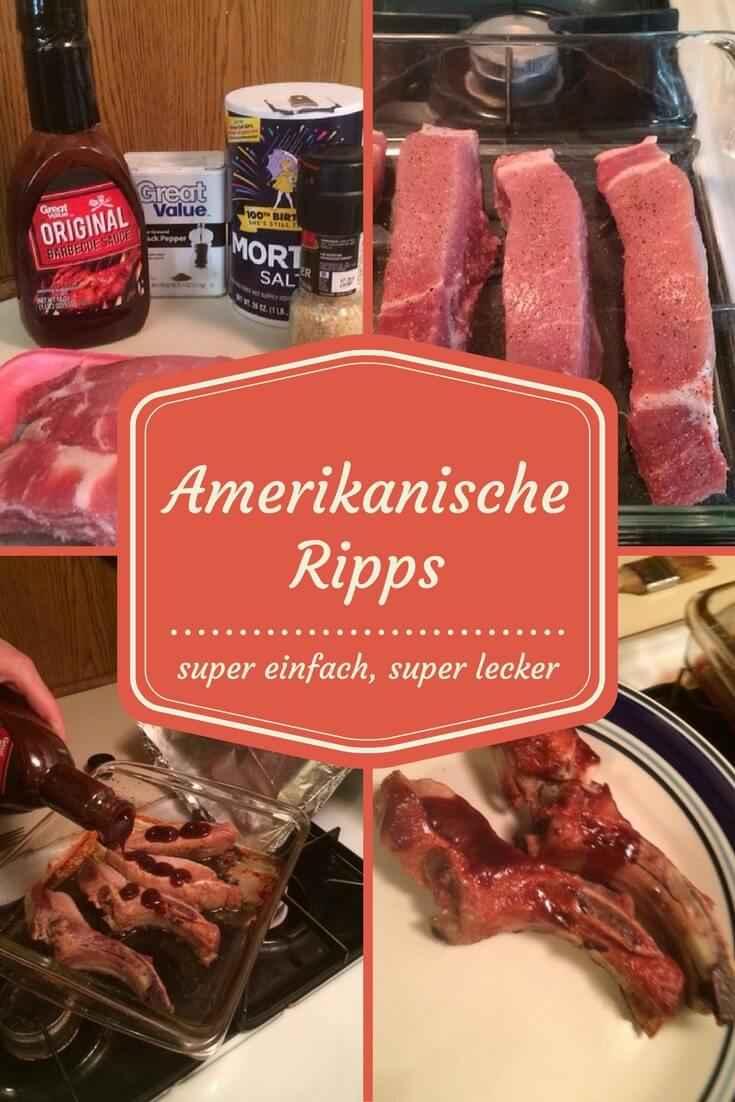 Rezept für amerikanische Ribs