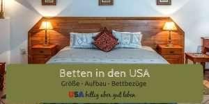 USA Betten Größen und Bettwäsche - Leben in den USA