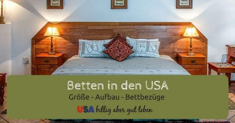 USA Betten und Bettbezüge