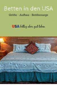 Betten und Bettbezüge in den USA