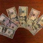 Leben in den USA - Dollar Notes