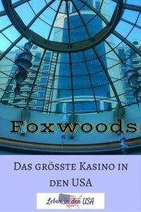 Foxwoods ist eine Sehenswürdigkeit, die du dir nicht entgehen lassen solltest, wenn du in New England bist