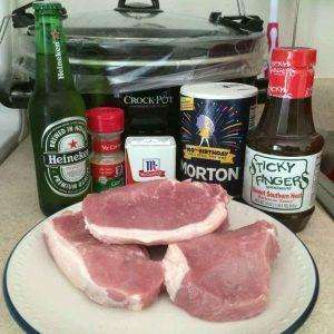 Pork Chops Rezept aus dem Slowcooker