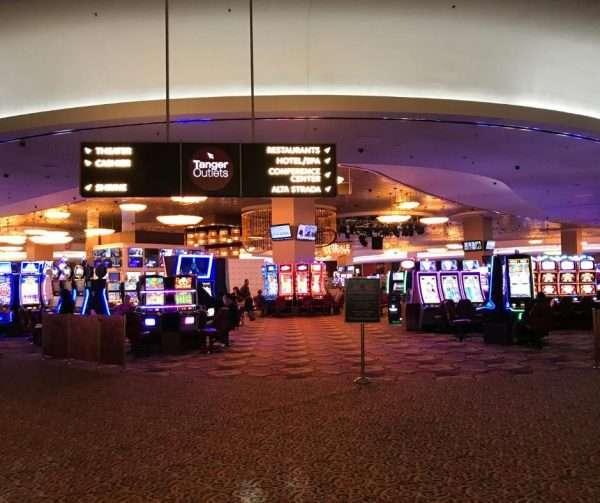 Spielhalle Foxwoods Kasino in Neuengland
