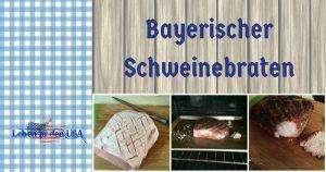 Bayerischer Schweinebraten mit Bier und Kruste - Sehr einfach!