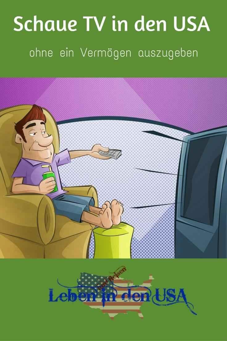 Fernsehen USA - Günstig fernseh schauen in den USA auch Deutsches TV