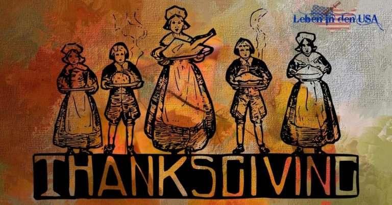 Thanksgiving der Feiertag in den USA mit dem Turkey