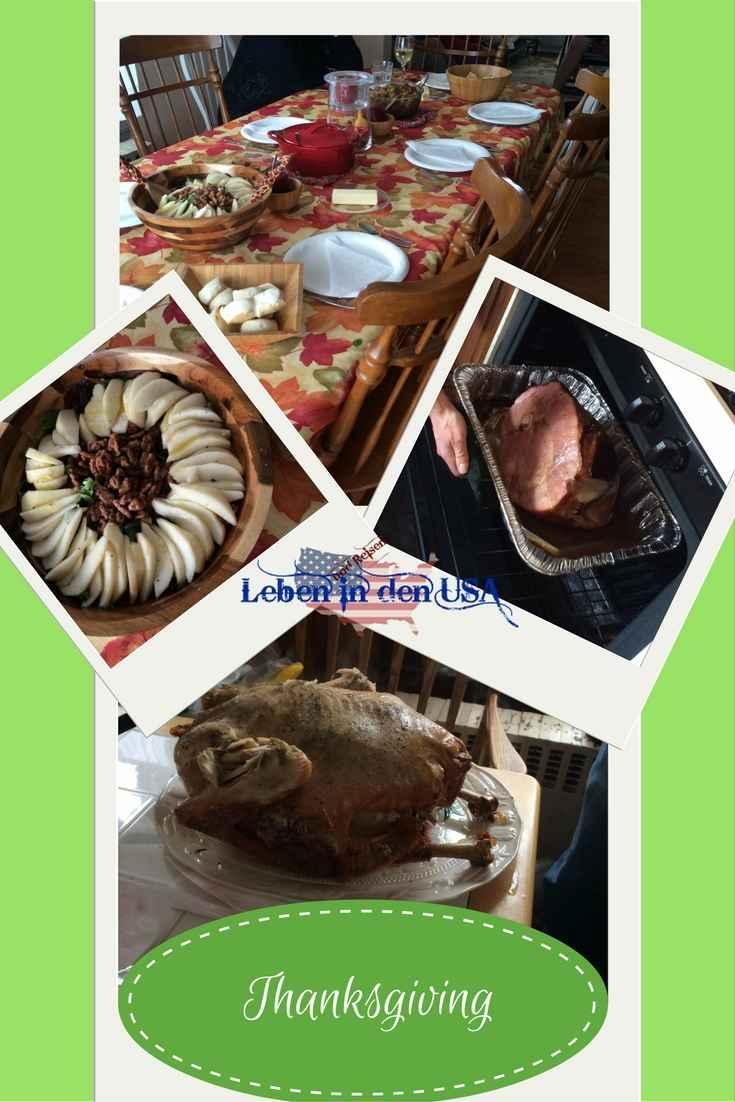 Thanksgiving Essen bis zum platzen in den USA