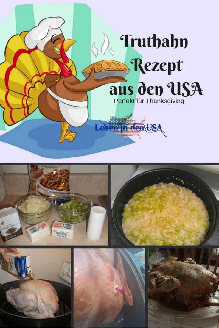 Amerikanisches Rezept fuer Truthahn