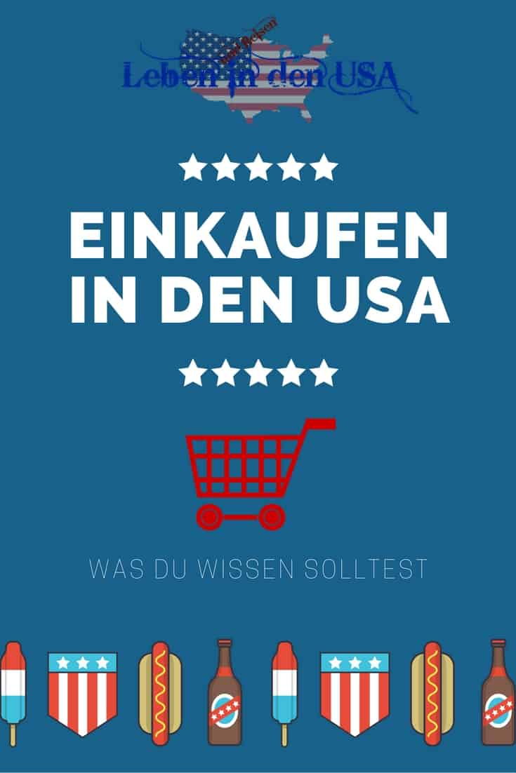 Interessantes zum shoppen in den USA