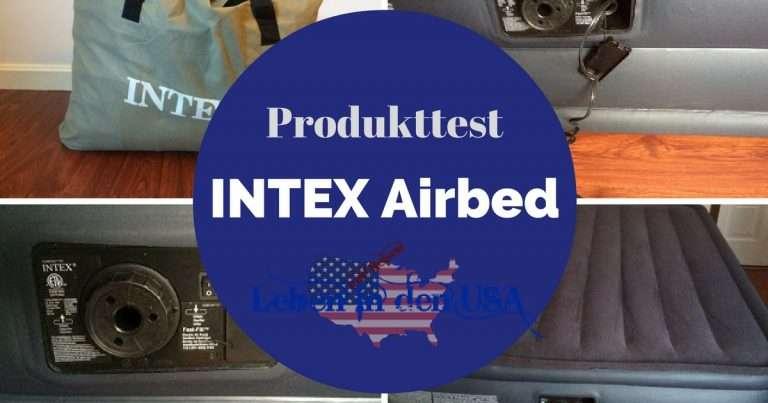 INTEX Luftmatratze – Das Gästebett zum aufblasen