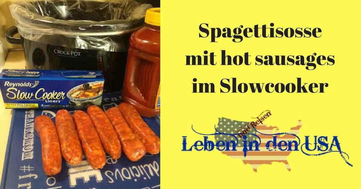 Rezept Spaghettisoßeim Slowcooker