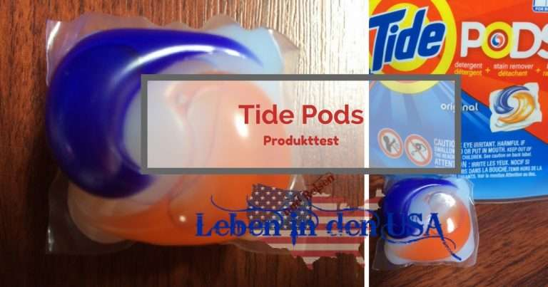 Tide Pods Produkttest – Superpraktisch