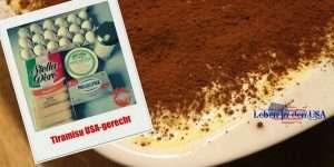 Rezept um Tiramisu guenstig zu machen auch mit Zutaten in den USA