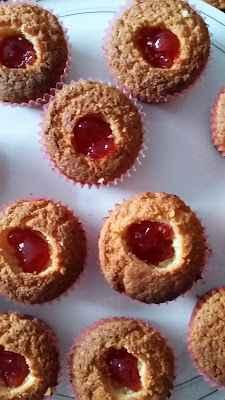 Marmelade in Cupcake