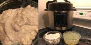 Quark einfach selber machen mit diesem einfachem Rezept mit dem Crock Pot Express