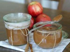 Zimt Apfelbutter aus dem Slowcooker