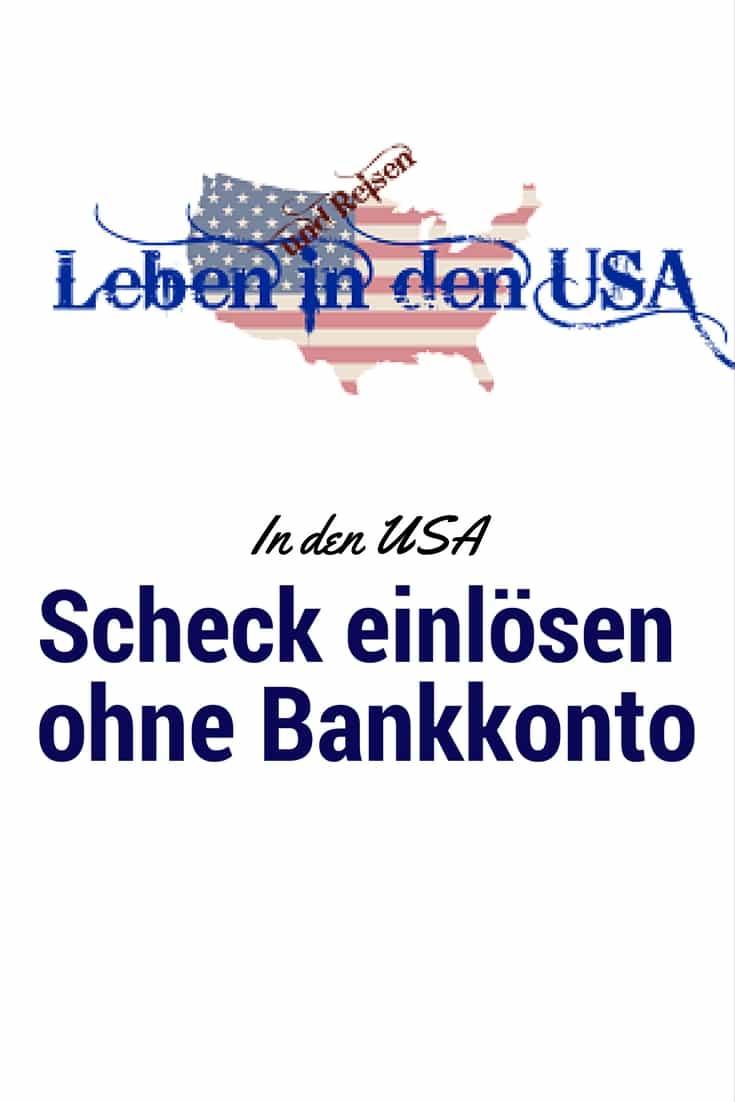 Mache deinen Scheck zu cash ohne Bankkunde zu sein