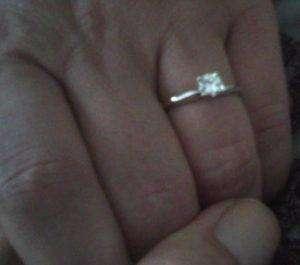 Mein Verlobungsring