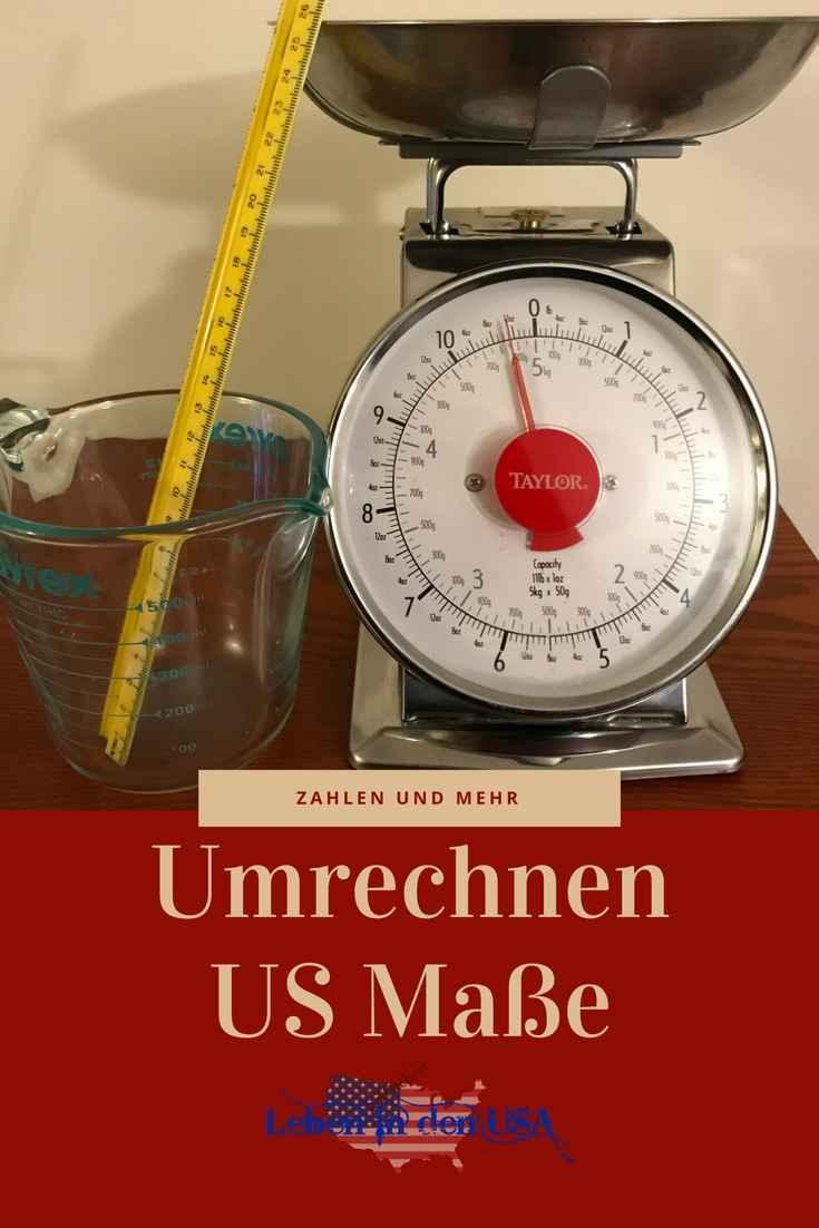 Umrechnen US Maße und Infos zu Zahlen in den USA