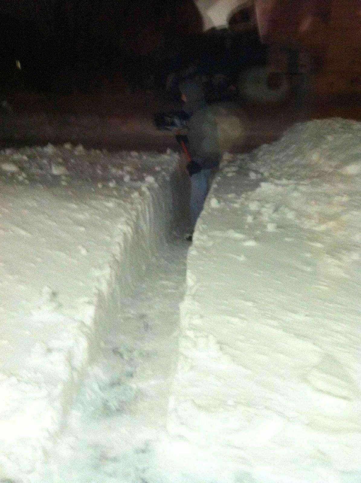 Blizzard Schnee