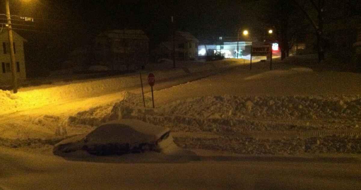 Ein Blizzard ist etwas anderes als ein Schneesturm