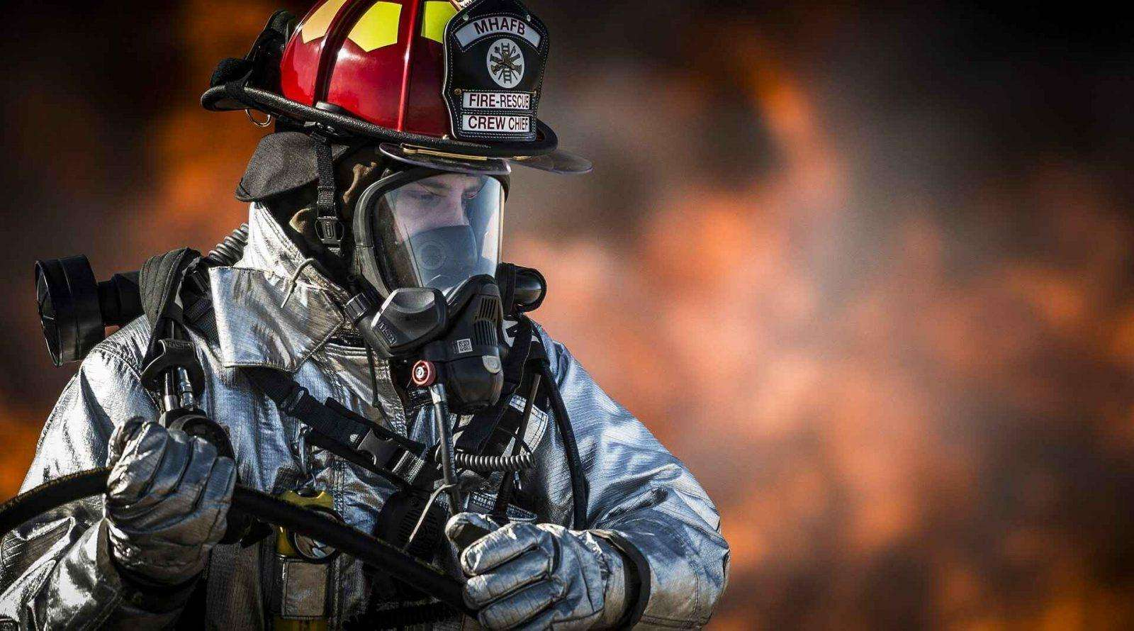 Flächenbrände Feuer in den USA