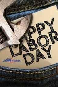 Labor Day in den USA der amerikanische Tag der Arbeit