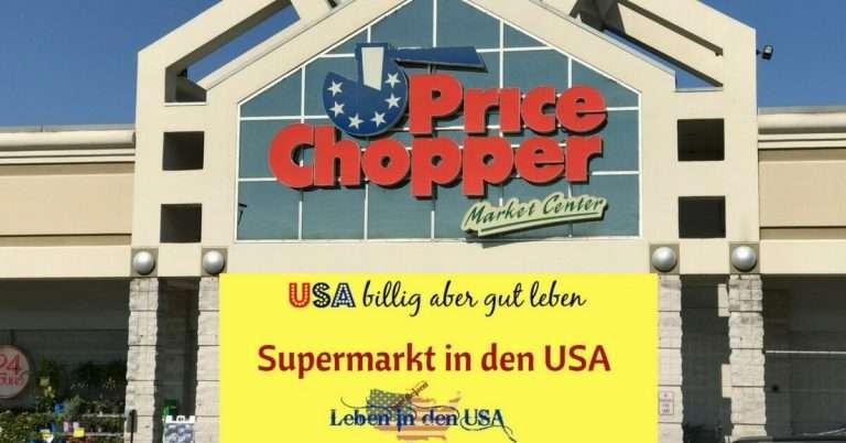 Supermarkt USA ein Video Rundgang durch einen amerikanischen Supermarkt