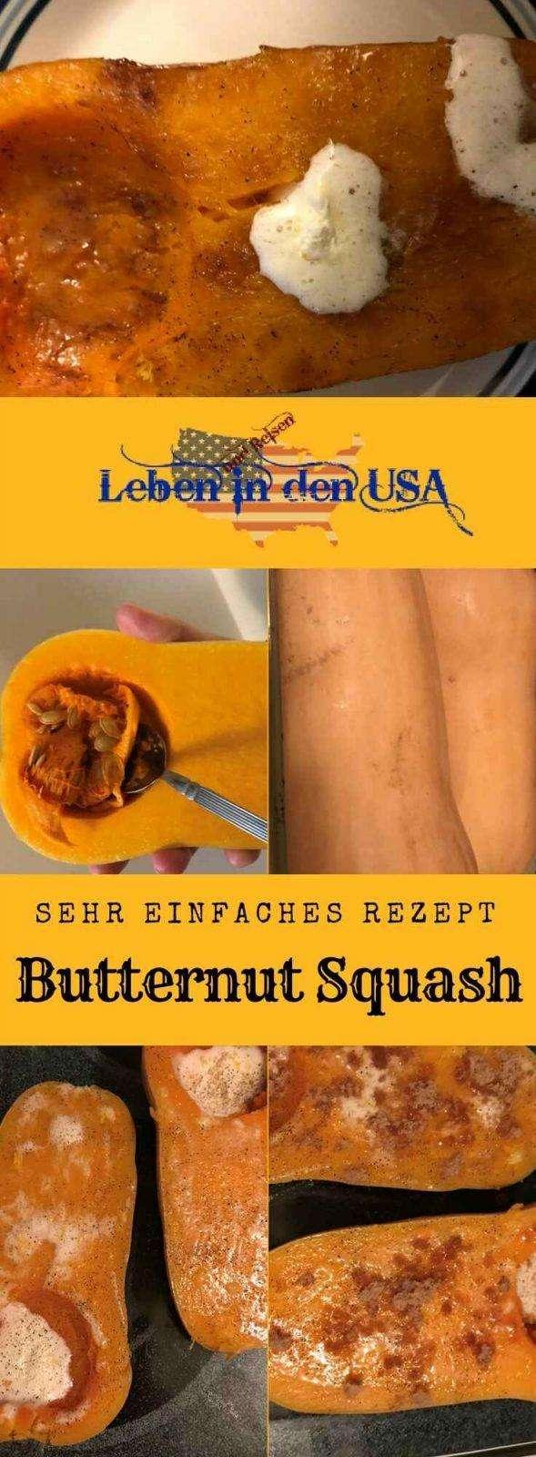 Herbstliches Rezept für Butternut Squash - Dieses einfache Rezept