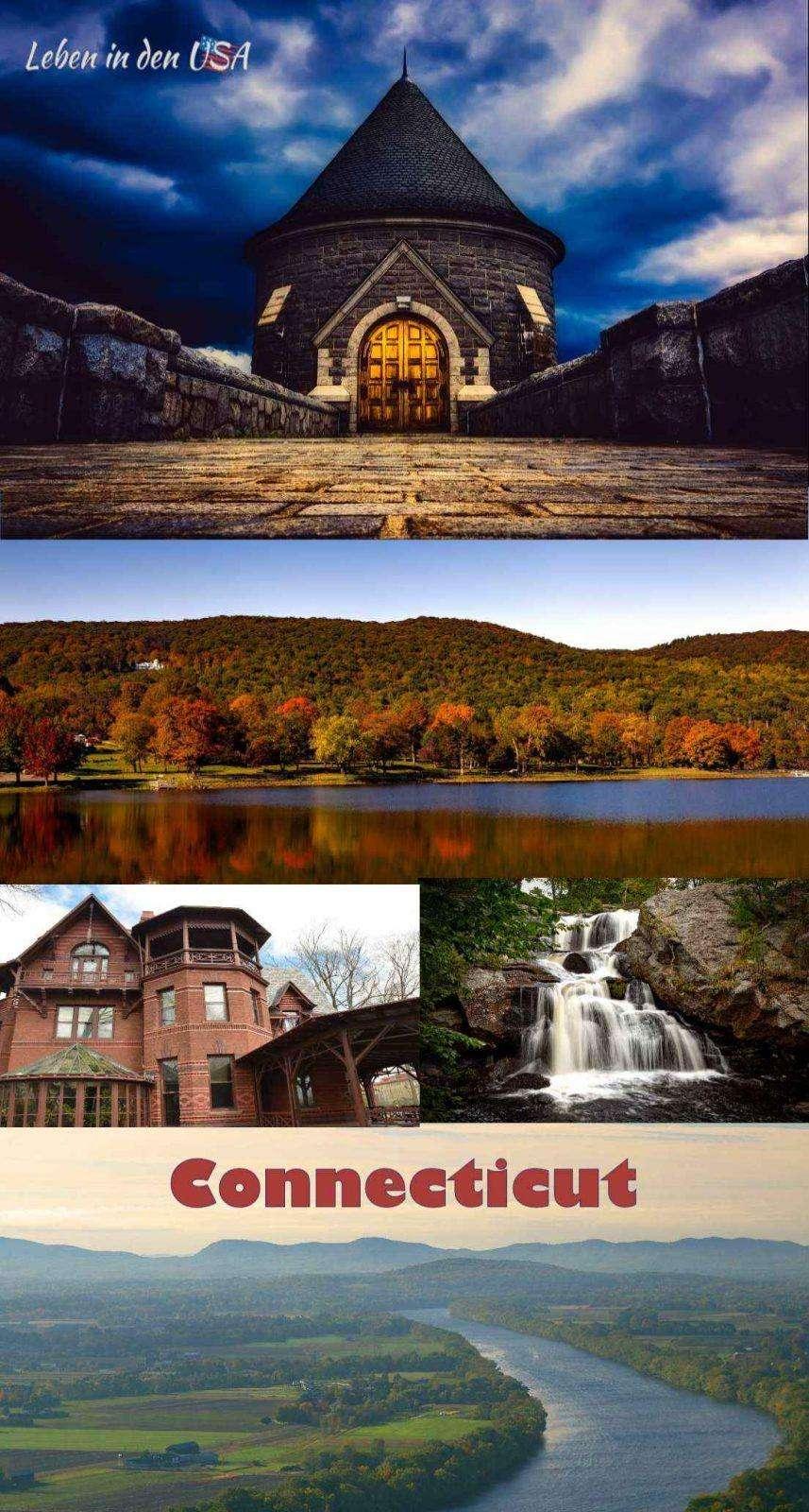Connecticut der Constitution State in Nordamerika - Informationen und Fakten zu diesem Staat in den USA