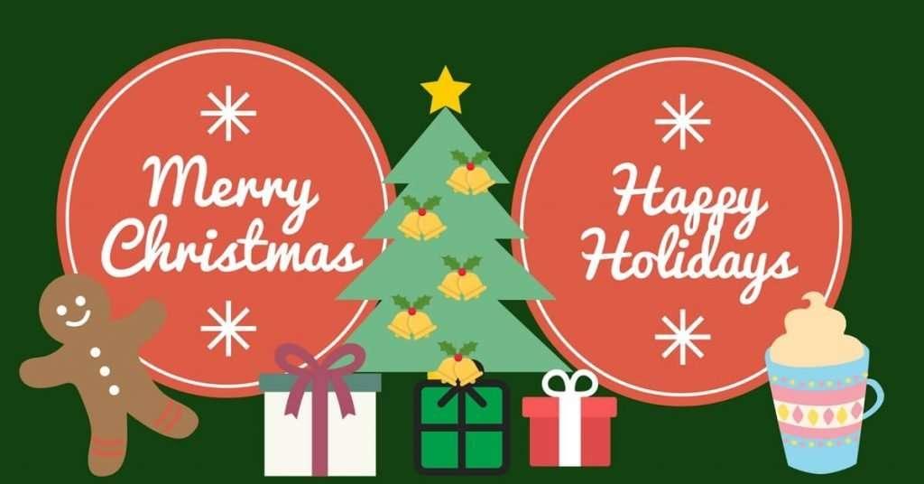 Frohe Weihnachten und Feiertage
