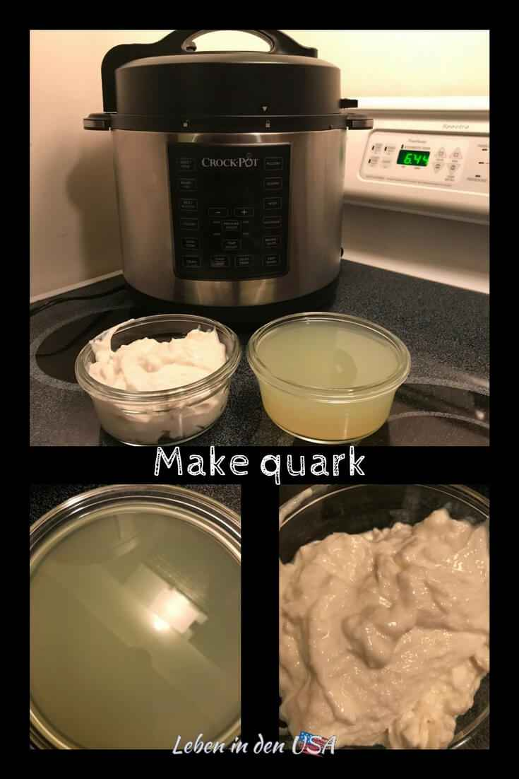 Make quark with the crock pot express or instant pot - a easy recipe