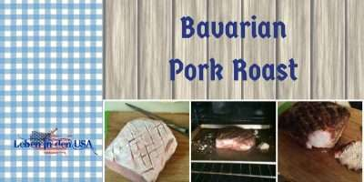 recipe bavarian pork roast