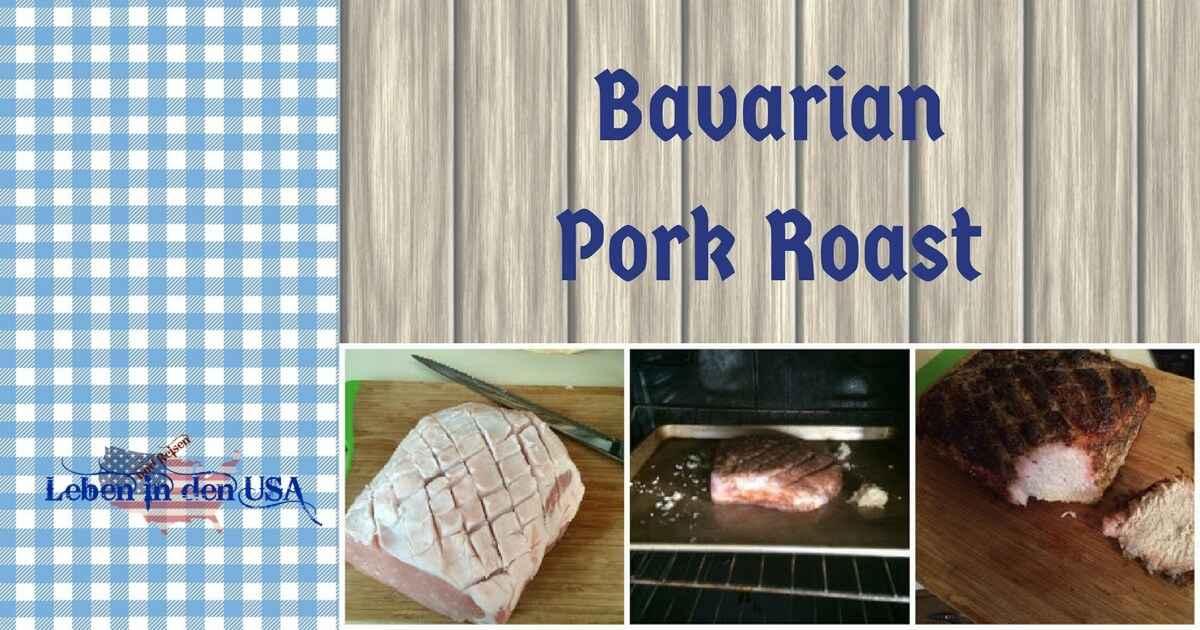 recipe bavarian pork roast