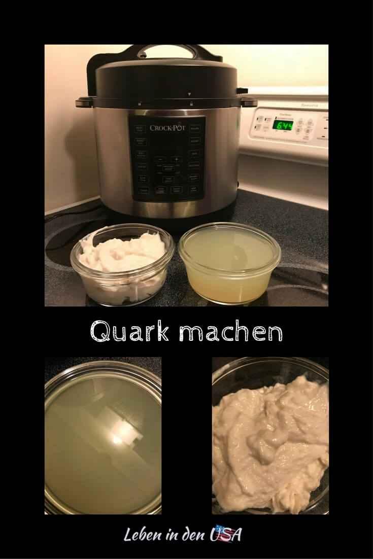 Einfach Quark machen mit dem Crcok Pot Express Multi-Cooker oder Instand Pot mit diesem Rezept