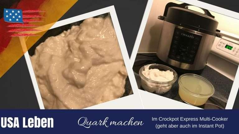 So macht man Quark im Crock Pot Express oder im Instand Pot