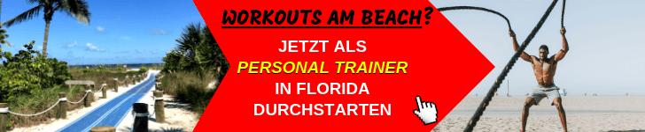 Als Personal Trainer in Florida arbeiten und leben