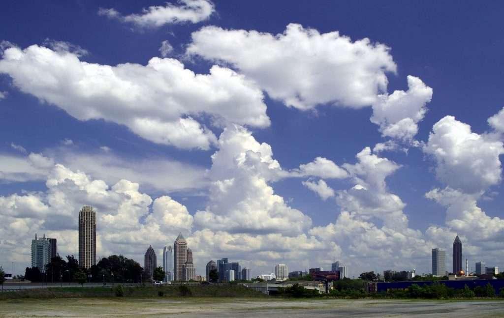 Atlanta ist die Hauptstadt von Georgia