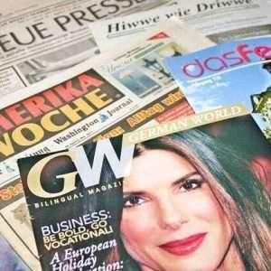 Deutsche in den USA - Deutsche Zeitungen und Magazine
