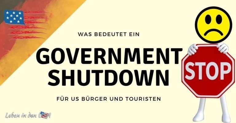 Was bedeutet der Government Shutdown für US Bürger und Urlauber?