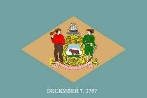 Delaware Flagge
