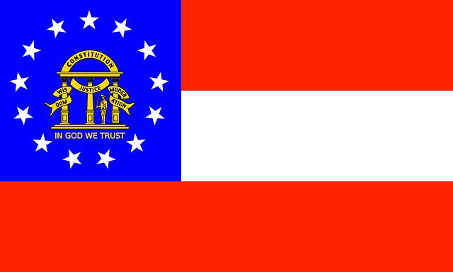 Georgia Flagge