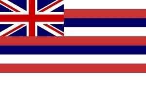 Hawaii Flagge
