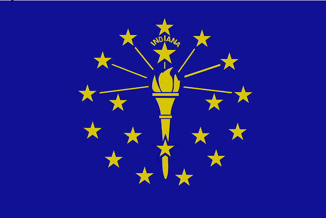Indiana Flagge