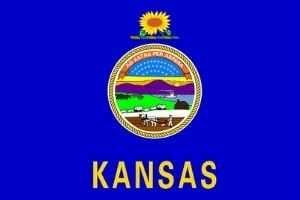 Kansas Flagge