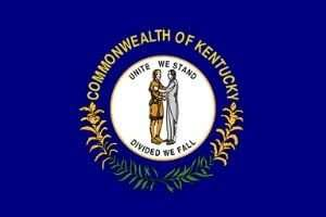 Kentucky Flagge