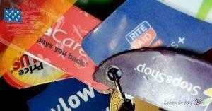 Spare Geld in den USA mit Kundenkarten