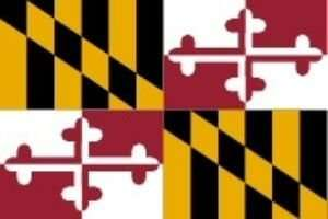 Maryland Flagge