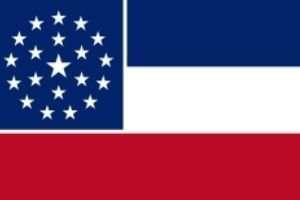 Mississippi neue Flagge